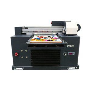 flatbed acrilic golf minge de lemn imprimantă cu jet de cerneală mașină de imprimare a4 imprimanta uv