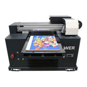 A2 A3 de dimensiuni mici de birou condus imprimanta flatbed uv pentru imprimare decor