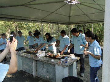 BBQ în parcul Gucun, toamna anului 2017