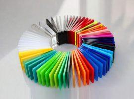 Plexiglas colorat