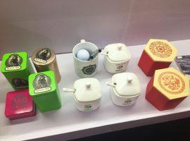 Cutie de ceai și ceai